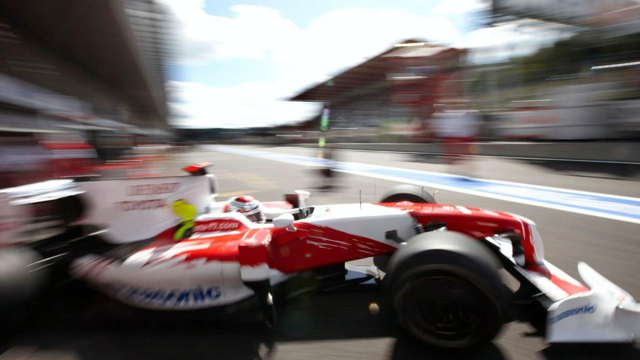 Jarno Trulli (ITA), Belgian Grand Prix, Francorchamps, Belgium 29.08.2009