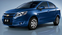 Chevrolet Sail Small Car Unveiled by Shanghai GM