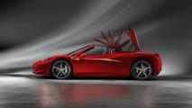 Ferrari 458 Spider live in Frankfurt [video]