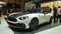 Abarth 124 Spider costs £29,565 OTR in the UK
