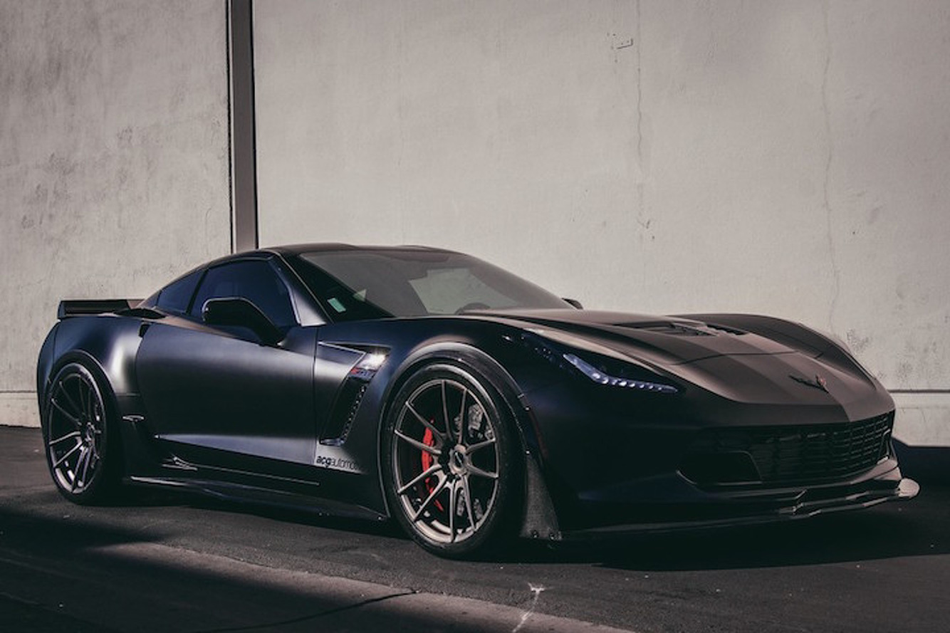 This 1,000HP Corvette Z06 is Super Scary, Super Sexy
