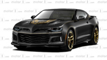 Chevrolet Camaro Z/28 mashed up with 'Screaming Chicken' Trans Am