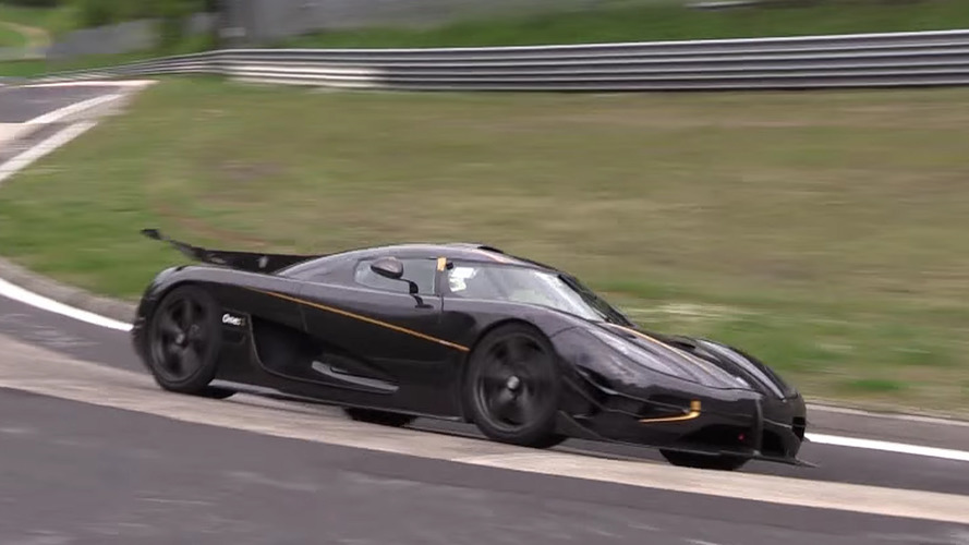 Koenigsegg One:1 spied lapping Nürburgring record in new video