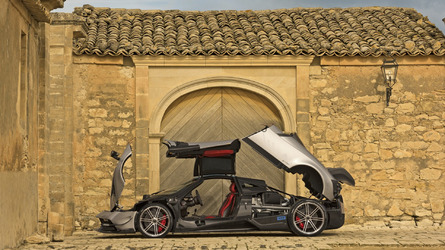 Pagani Huayra BC unleashed with 789 hp (66 pics)