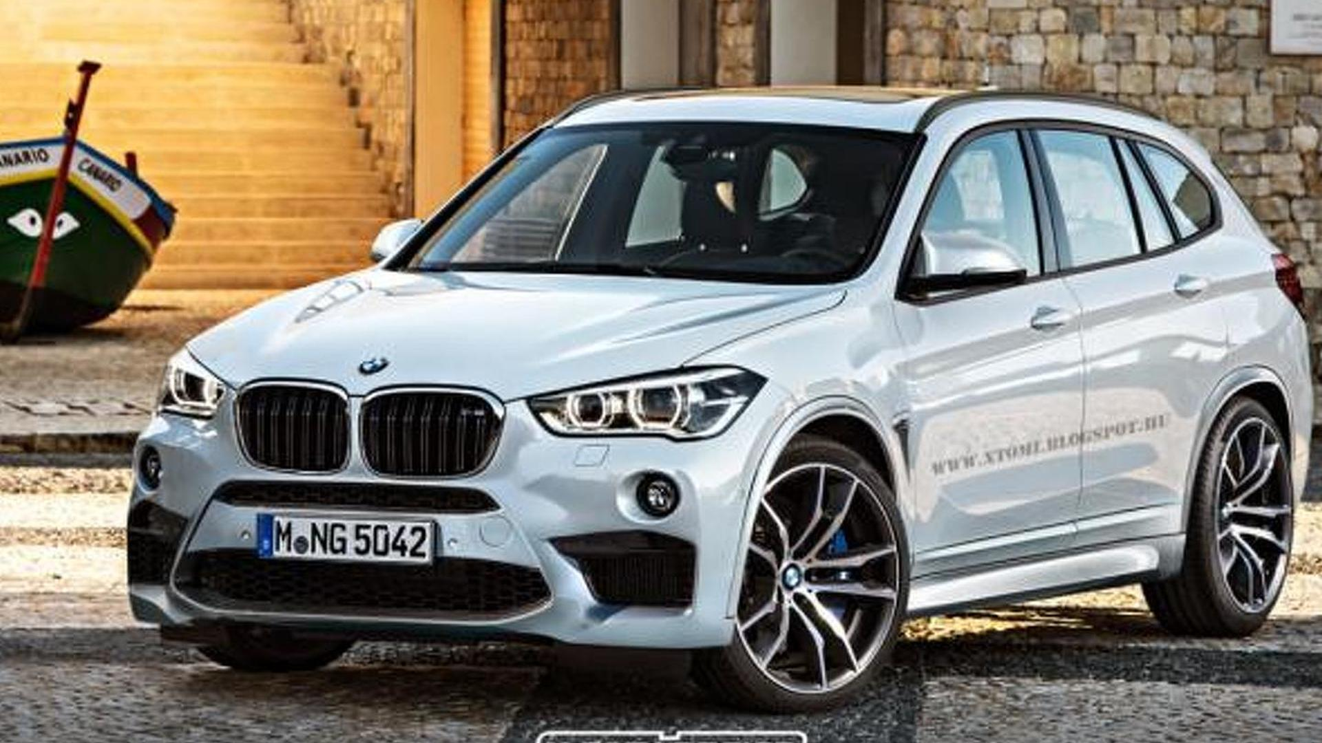 BMW X1 M rendered as a range topping model