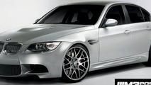 BMW M3 sedan computer generated image