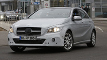 Mercedes A-Class facelift spy photo