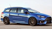 Ford Focus RS Wagon gets rendered