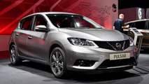 Nissan Pulsar at the 2014 Paris Motor Show