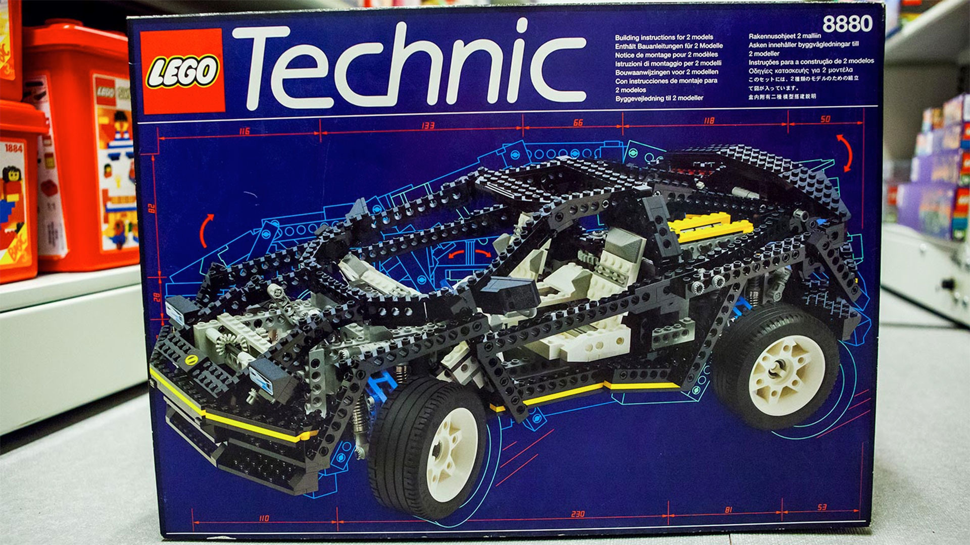 Lego Technic 2018 Sets >> The Lego Technic Car I Always Wanted Now Costs A Thousand Bucks