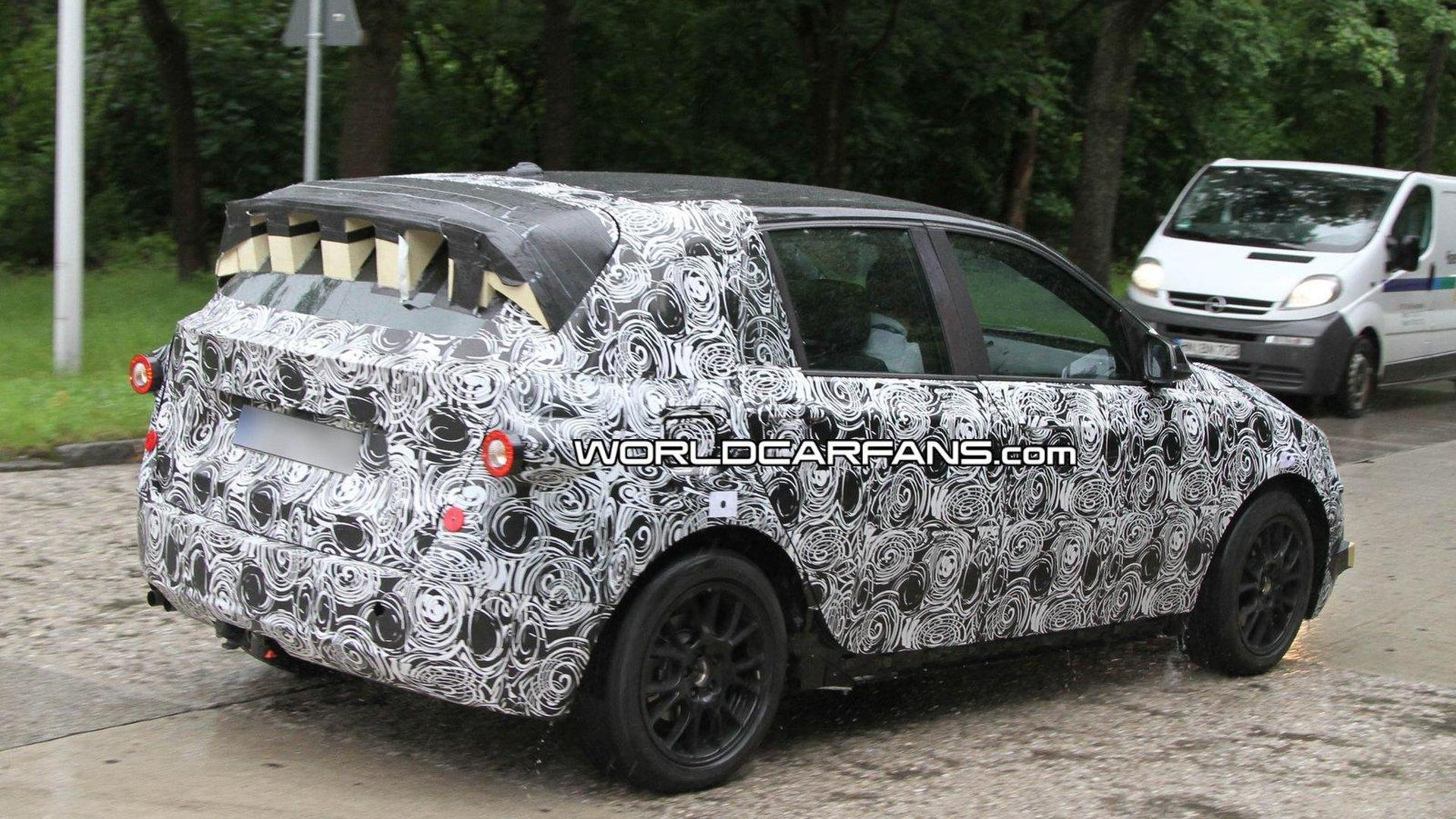 2013 BMW Front-Wheel-Drive prototype spied again