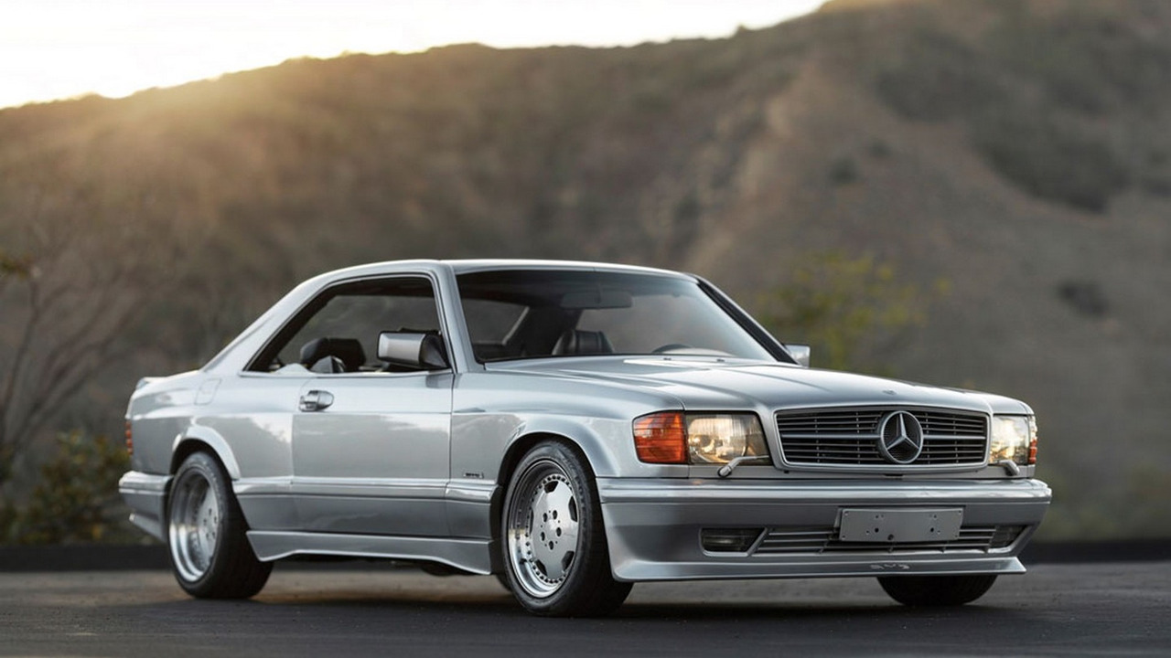 1989 Mercedes 560 SEC 6.0 AMG Wide Body