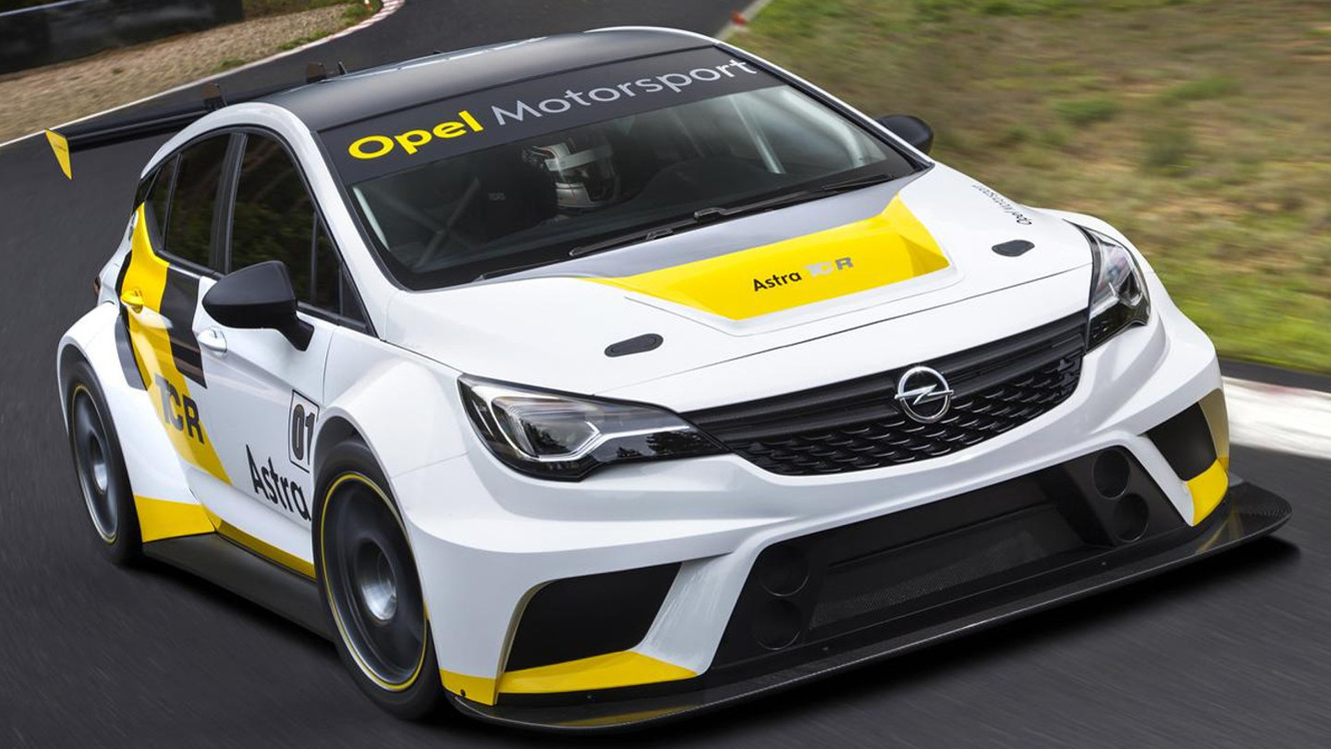 Opel Astra TCR racecar goes official with 330 PS and €95,000 price tag