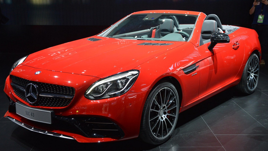 Mercedes SLC pricing announced for UK