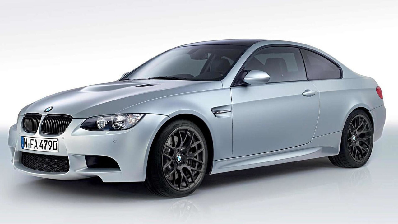 BMW M3 Coupé Frozen Silver limited edition