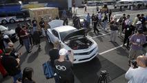 Chevrolet COPO Camaro does the quarter-mile in 8.88 seconds [video]