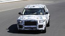 Jaguar crossover spied on the Nurburgring