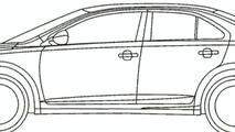 Suzuki Kizashi Drawing