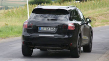 2011 Porsche Cayenne Spy Video at the Nurburgring
