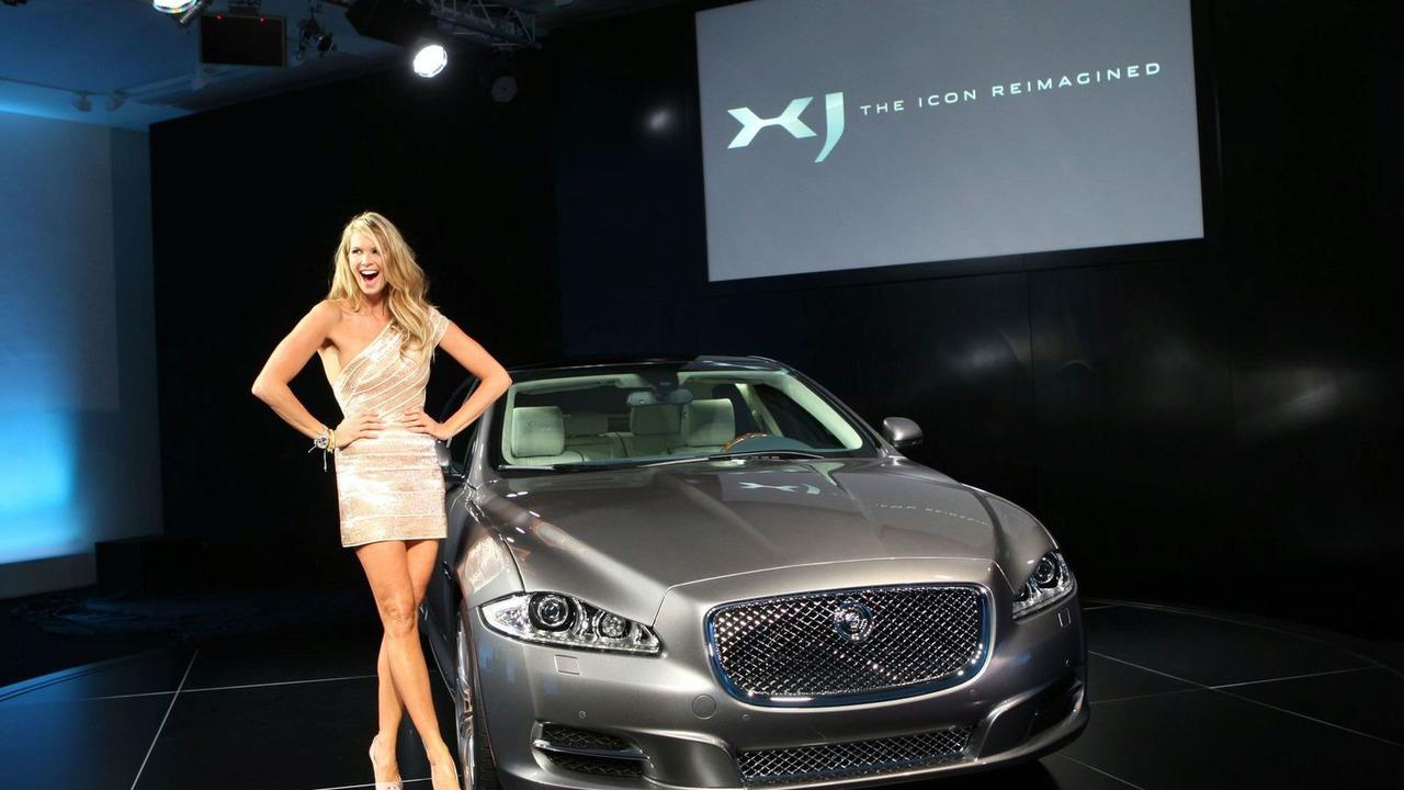Elle McPherson at 2010 Jaguar XJ world premiere