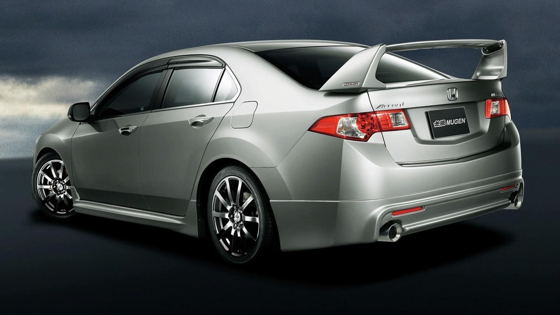 New Honda Accord Receives Mugen Treatment in Japan