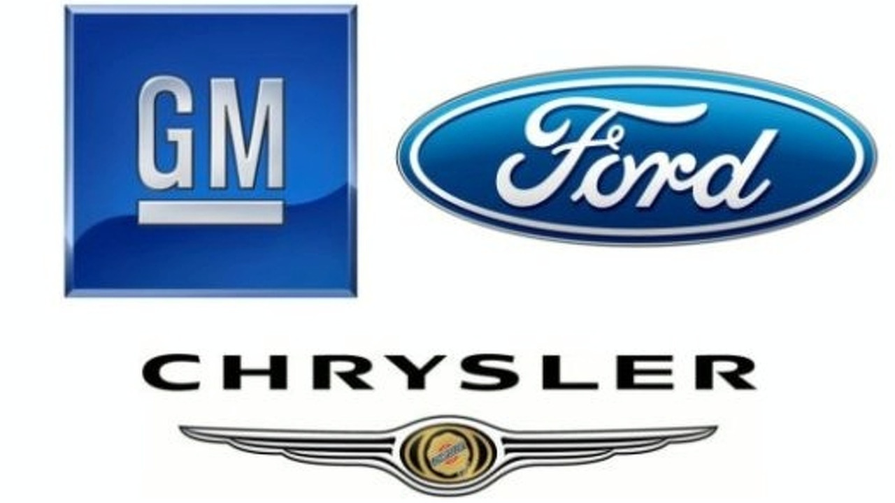 Chrysler Ford GM logos