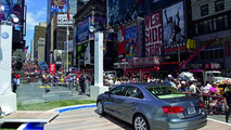 VW Jetta gets public unveiling in Time Square with Katy Perry