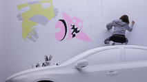 Volvo cribs from the BMW art car playbook [video]