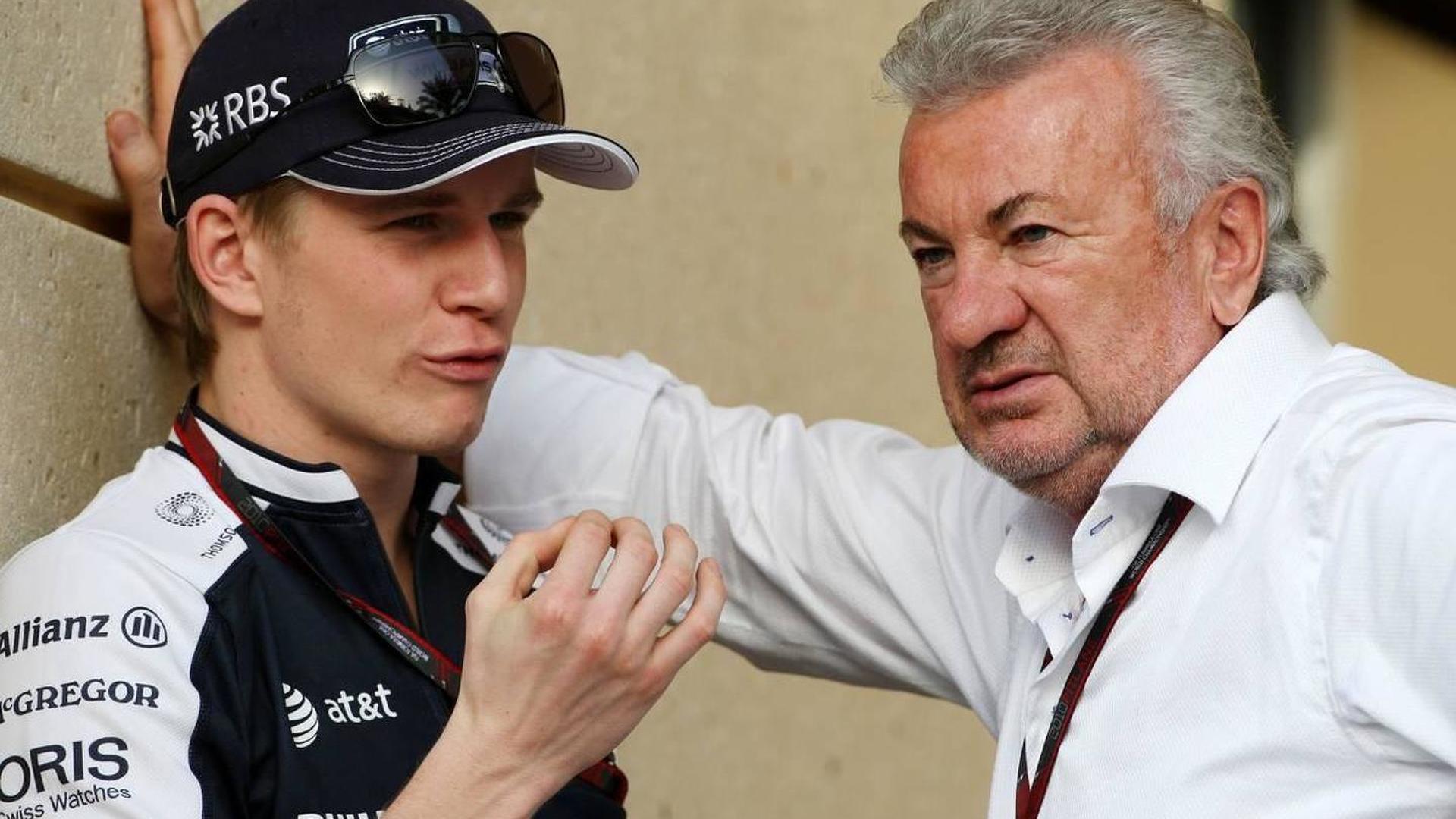 Haug insists 'no contact' with Hulkenberg
