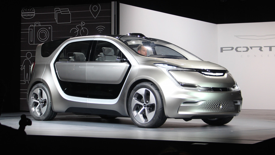 Chrysler Portal concept could reach production after 2018