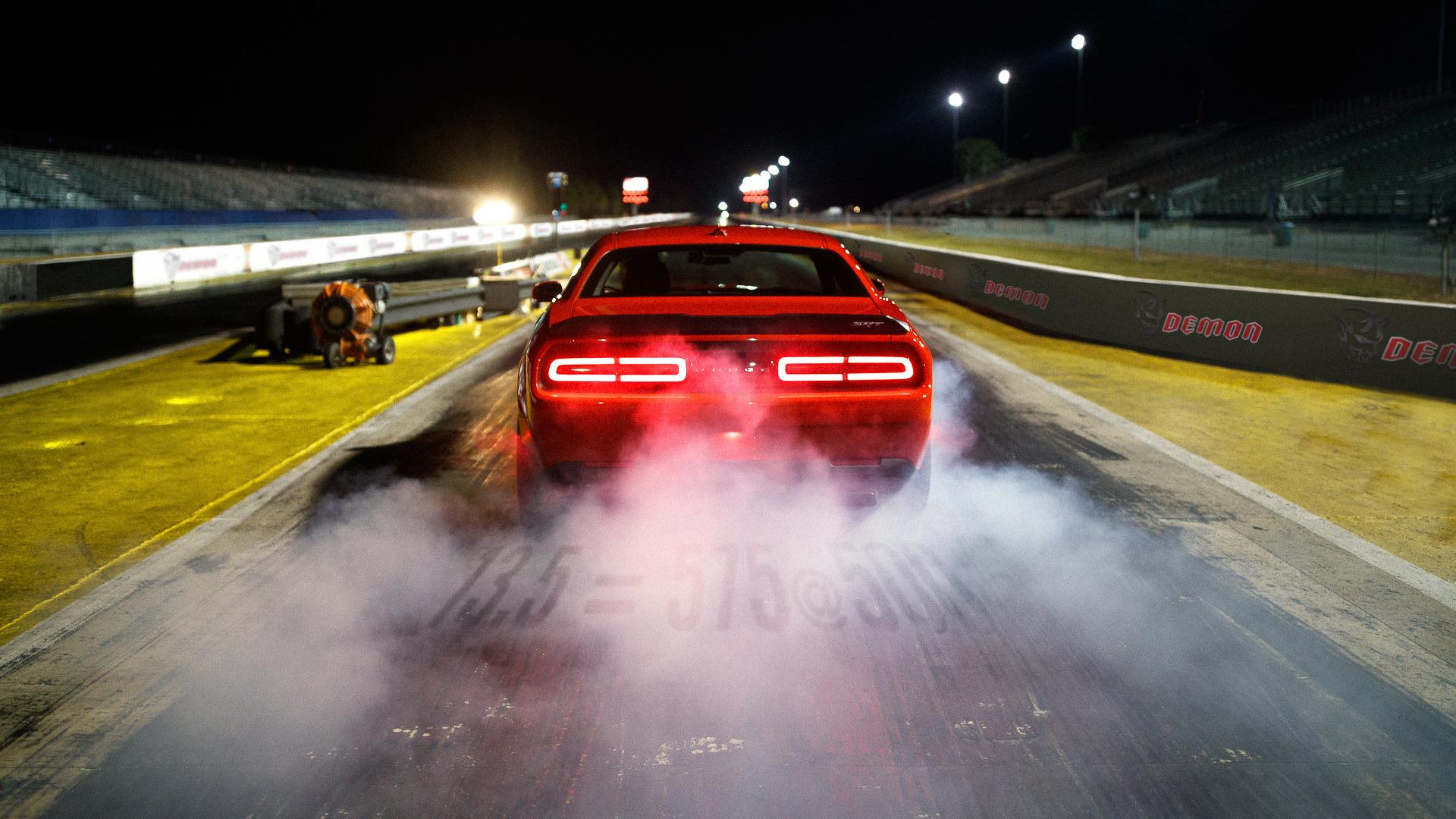Dodge Challenger SRT Demon shows off drag-focused suspension in latest ...