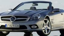 Facelifted Mercedes SL 350
