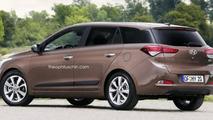Hyundai i20 CW render
