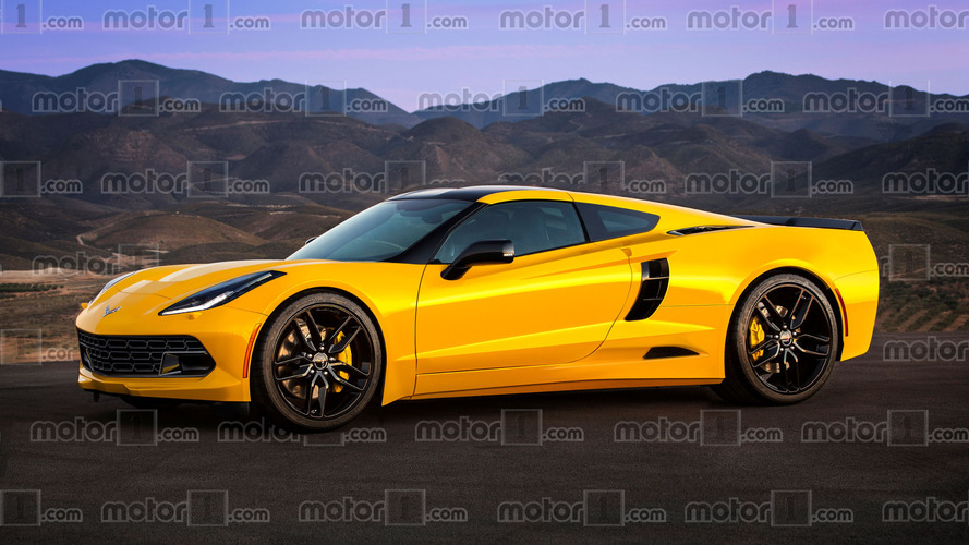Will the mid-engine Chevy Corvette C8 look like this?