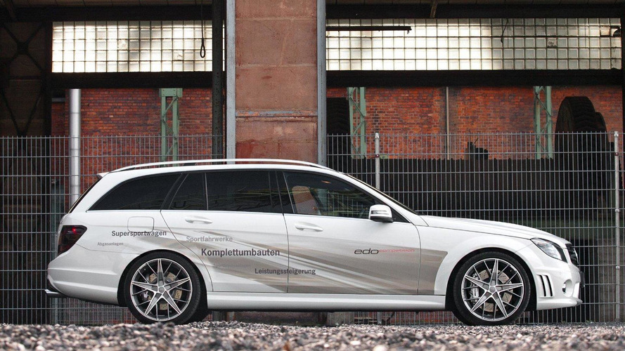 Mercedes C63 AMG Wagon by Edo Competition [video]