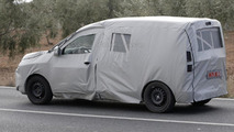 Dacia commercial van based on Lodgy MPV spy photo