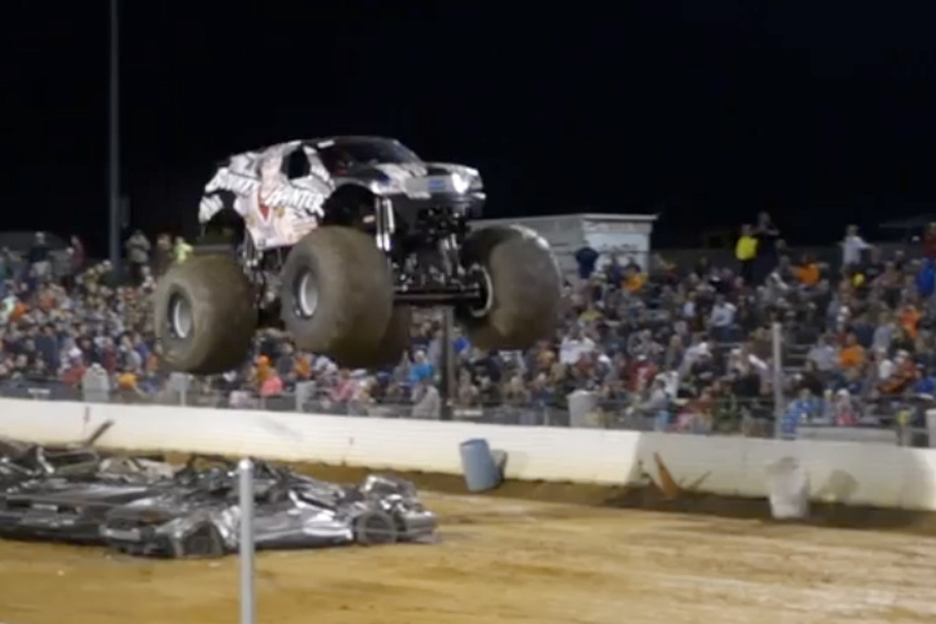 Monster Trucks Look Best in Slow-Mo [Video]
