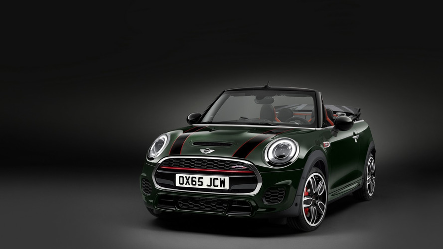 Mini John Cooper Works Convertible introduced with 231 hp