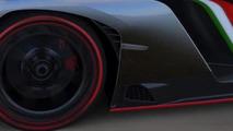 Lamborghini Veneno leaving Geneva Motor Show [video]