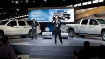2011 Chevrolet Silverado Heavy-Duty Facelift, Chicado Auto Show, 10.02.2010