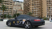 Russian tuner Dartz drops whale penis leather, wraps Porsche 911 with whale skin vinyl