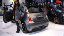 Fiat 500 EV at 2010 NAIAS in Detroit