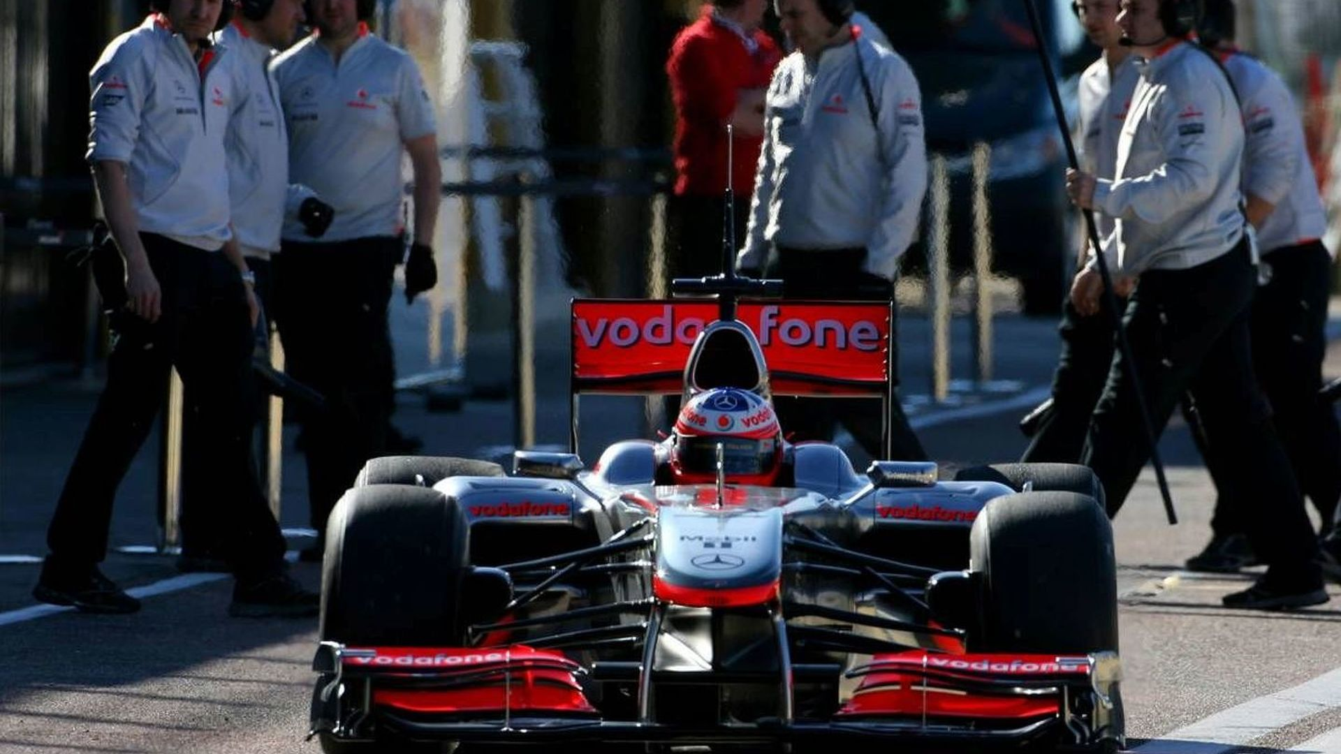Paffett to be McLaren reserve early in 2010