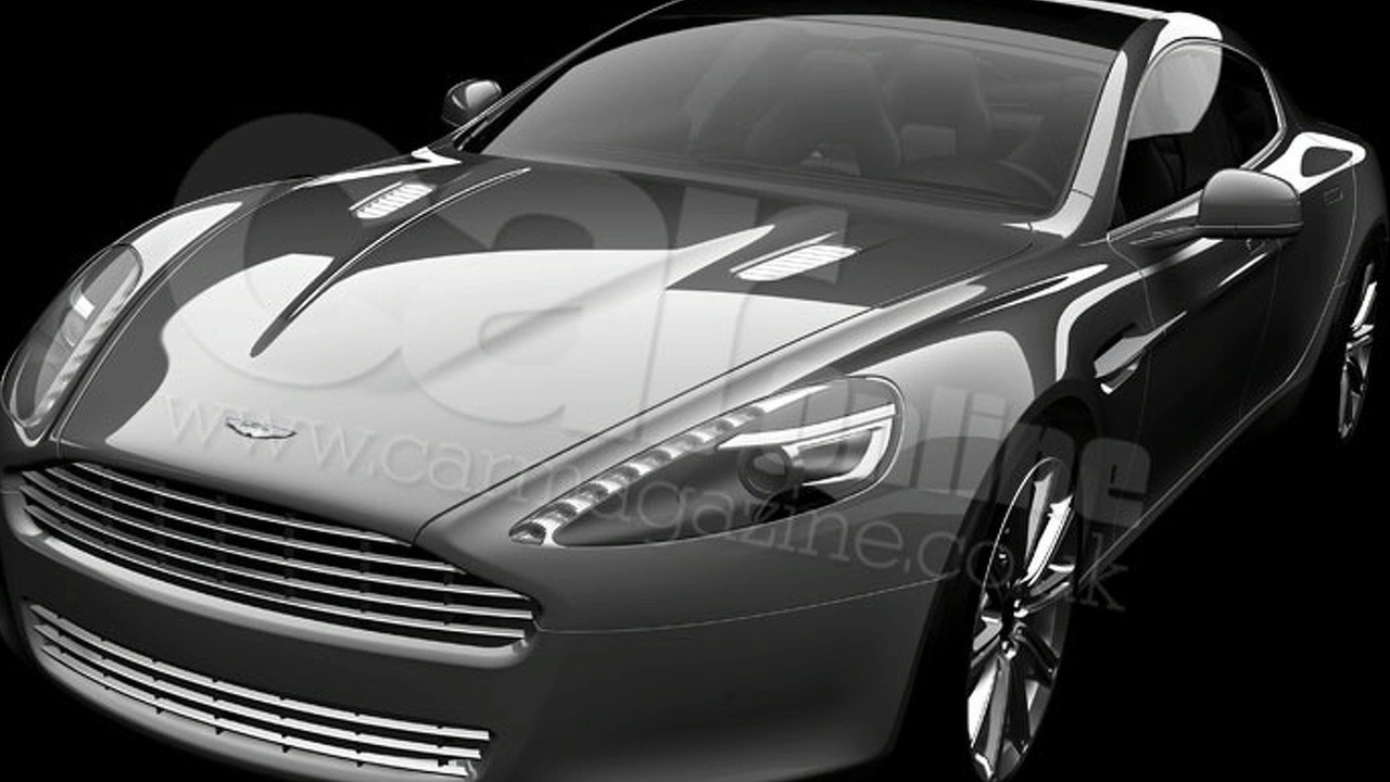 Aston Martin Rapide leaked image