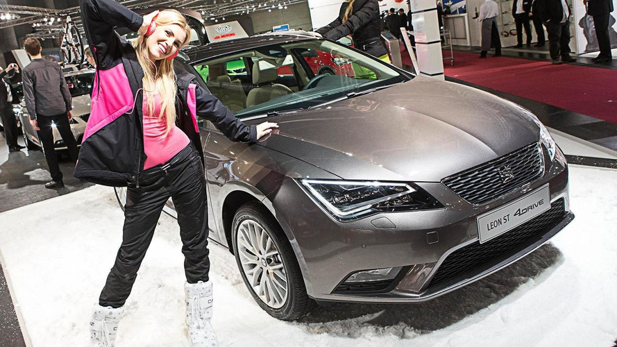Seat Leon ST 4Drive unveiled at the Vienna Motor Show