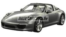 2014 Porsche 911 Targa leaked through patent photos ?
