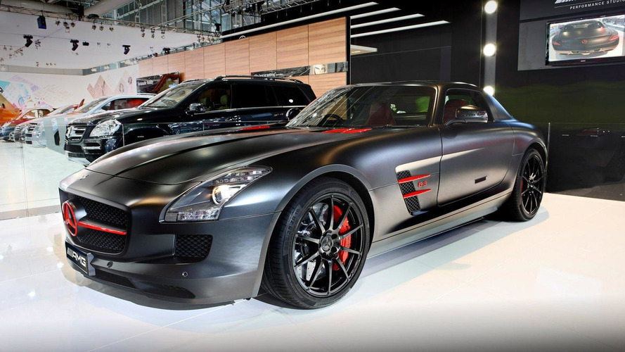Mercedes Concept 358 and unique SLS AMG introduced in Australia
