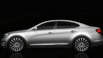 Kia VG Sedan Renderings Surface