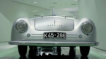 """The exhibition: the 356 """"Number 1"""" Roadster built in 1948"""