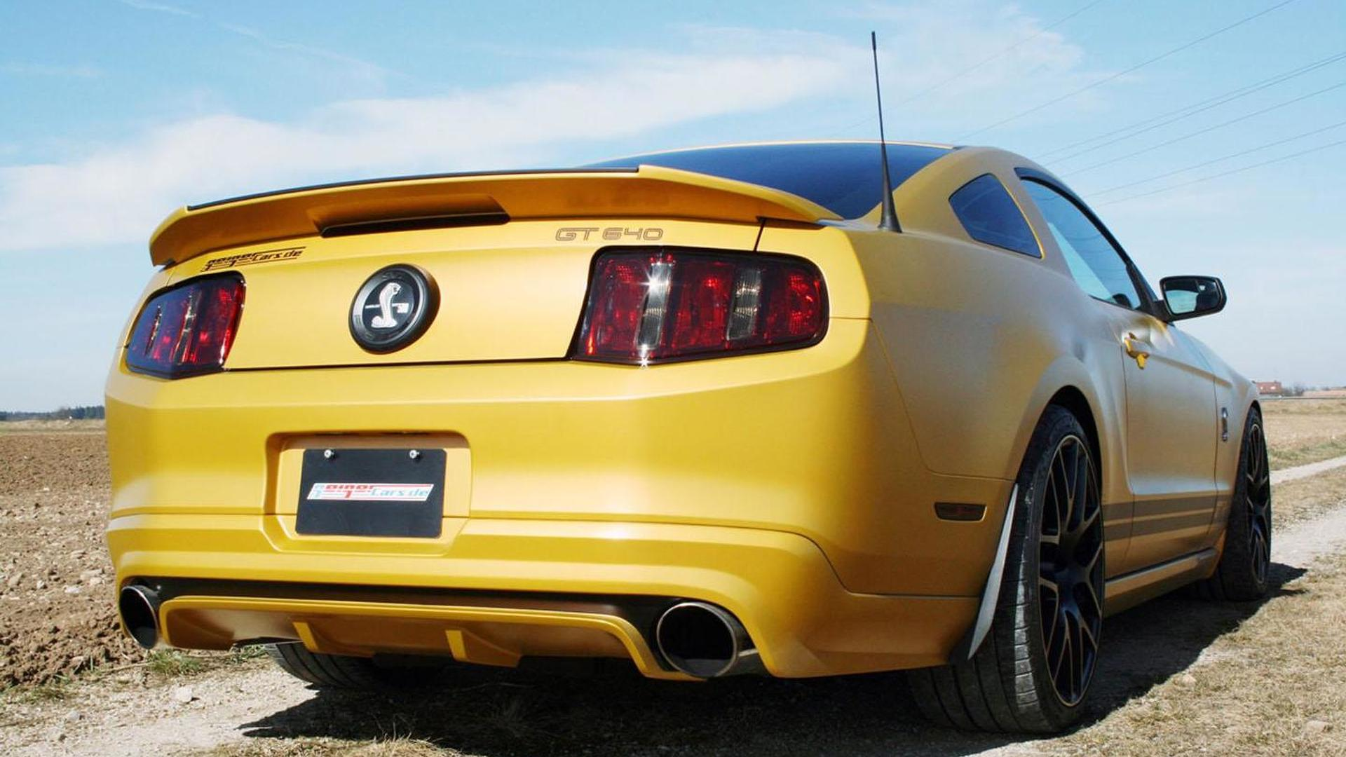 Ford Mustang Shelby GT640 Golden Snake by GeigerCars